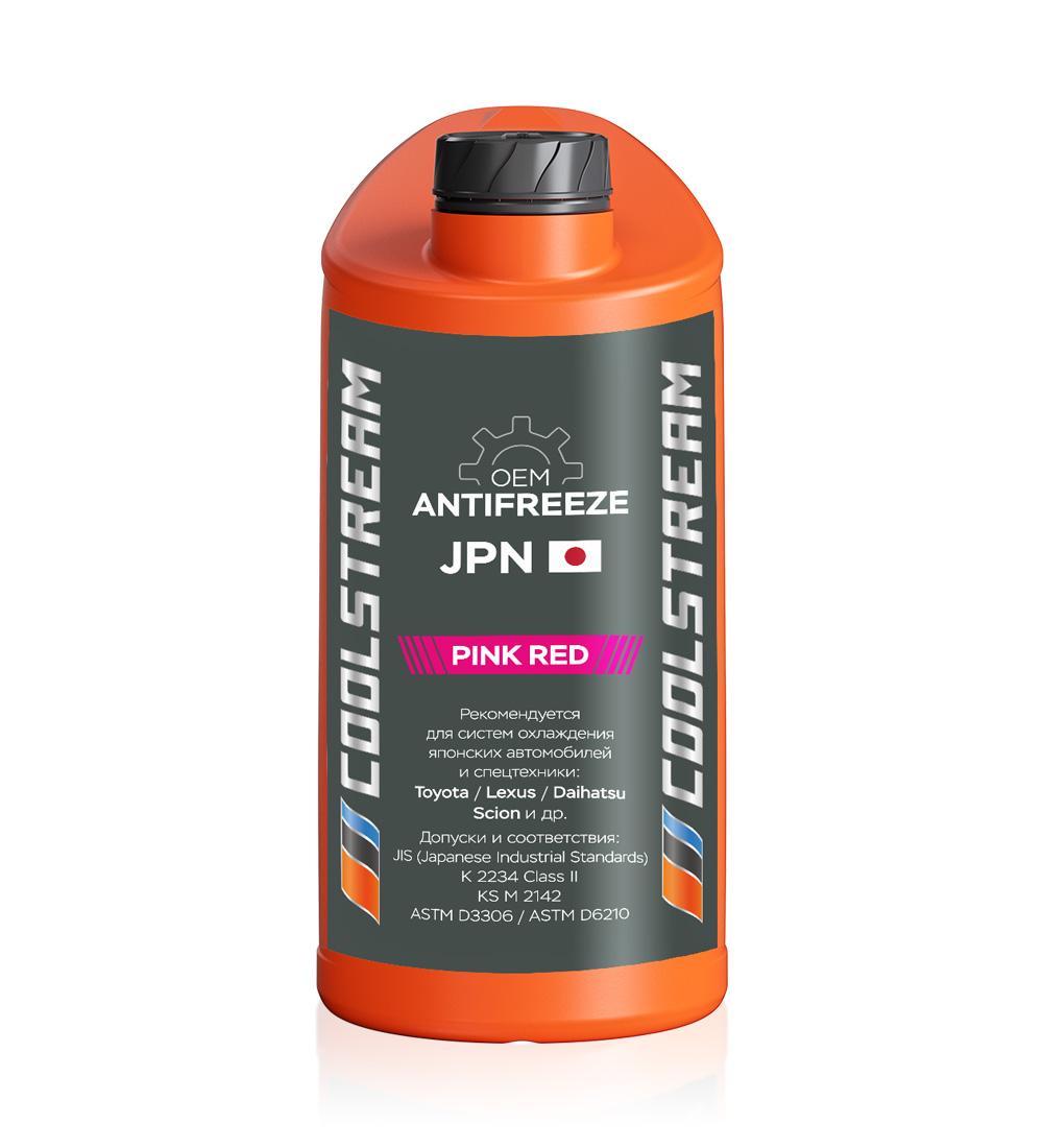 Антифриз JPN Pink red, 5кг