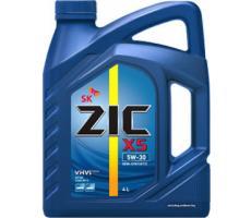 Масло моторное полусинтетическое  ZIC X5 5W-30, 4л