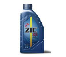 Масло моторное полусинтетическое ZIC X5 10W-40, 1л